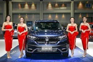Live Photos: New 2020 Honda CR-V showcased in Bangkok