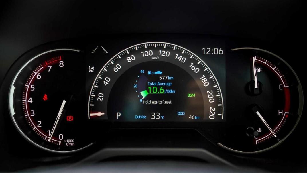 2020 Toyota RAV4 2.5L Interior 006