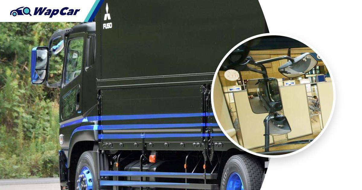 Driving next to a lorry? Here's how to make sure its driver can see you 01