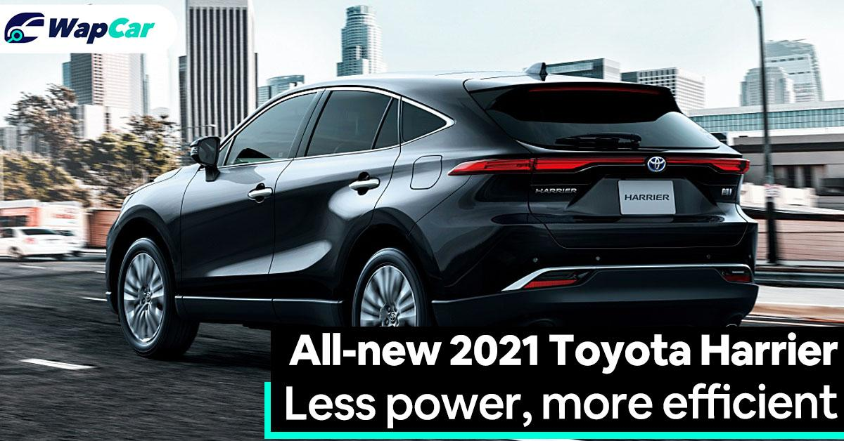 All-new 2021 Toyota Harrier, TNGA-K, 2.0L and 2.5L Hybrid, goodbye turbo 01
