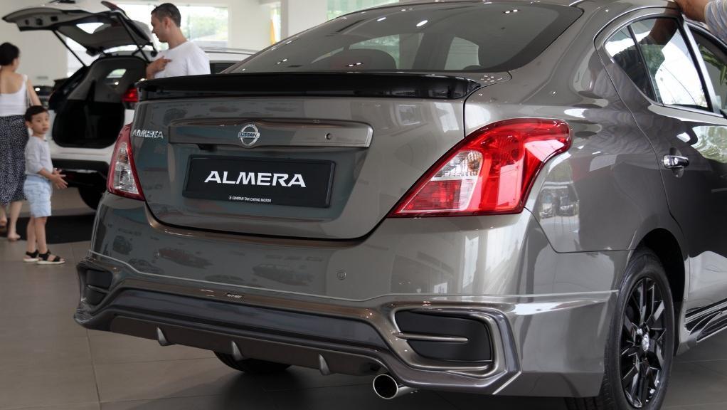 2018 Nissan Almera 1.5L VL AT Exterior 016