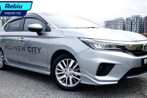 Rebiu ringkas: Honda City 1.5L 2020 – kereta keluarga kompak yang cukup baik?