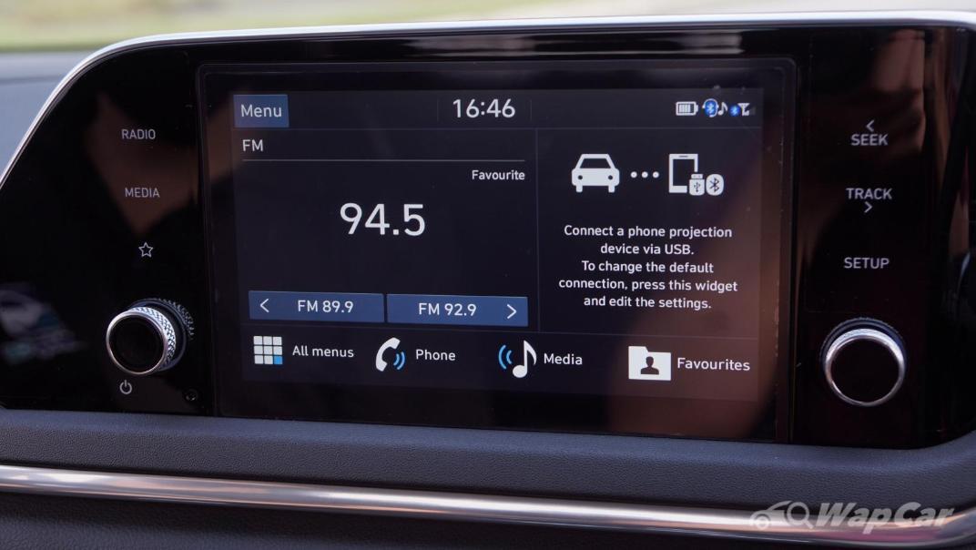2020 Hyundai Sonata 2.5 Premium Interior 016