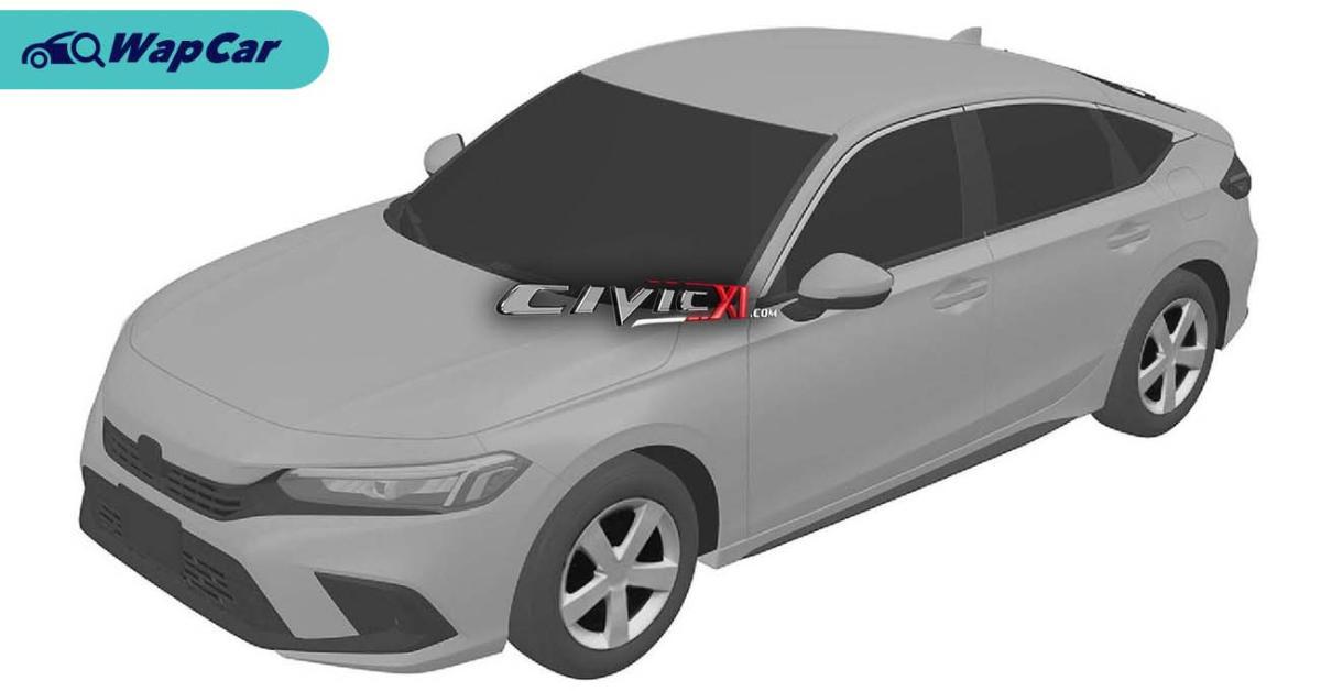 Leaked: Next-gen 2022 Honda Civic leaked via patent images 01