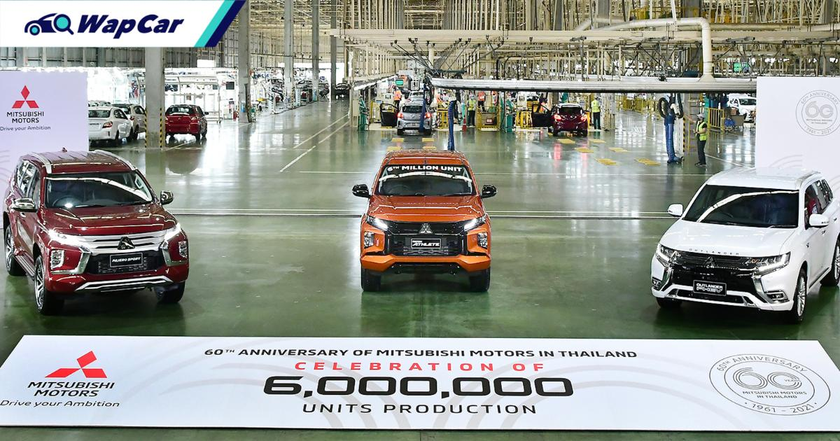 Mitsubishi Motors Thailand's 6 millionth unit is this strikingly orange Triton 01