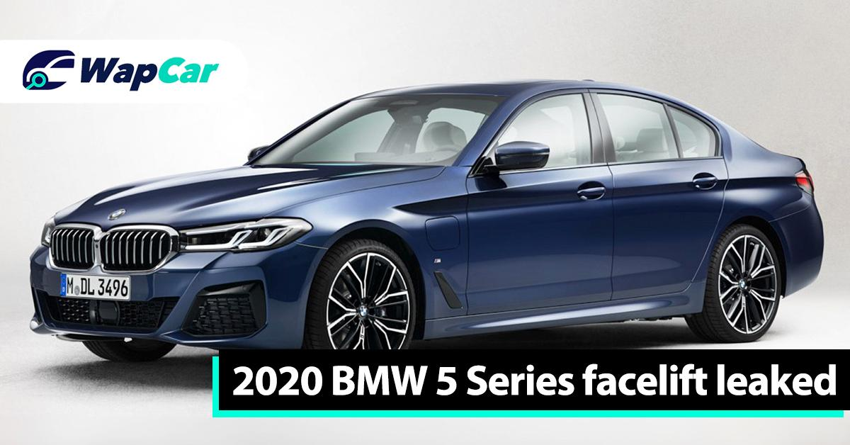 Leaked: Check out the 2020 (G30) BMW 5 Series facelift in M Sport trim 01
