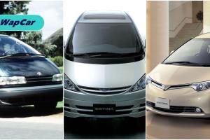 Sejarah Toyota Estima: MPV yang memulakan kehangatan kereta keluarga