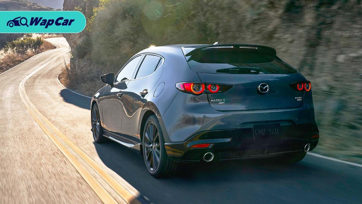 Whine like a turbo - 2020 Mazda 3 Turbo left-hand drive only 01