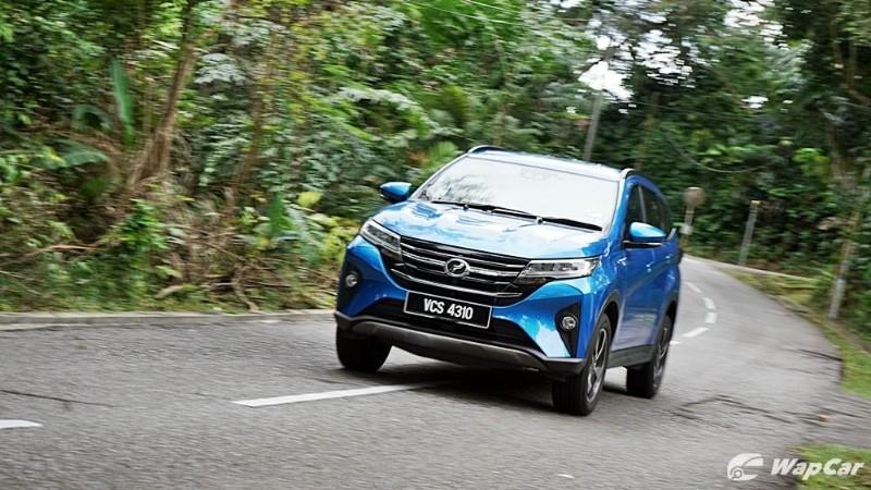 Perodua Aruz is rear wheel drive