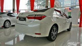 Toyota Corolla Altis (2018) Exterior 015