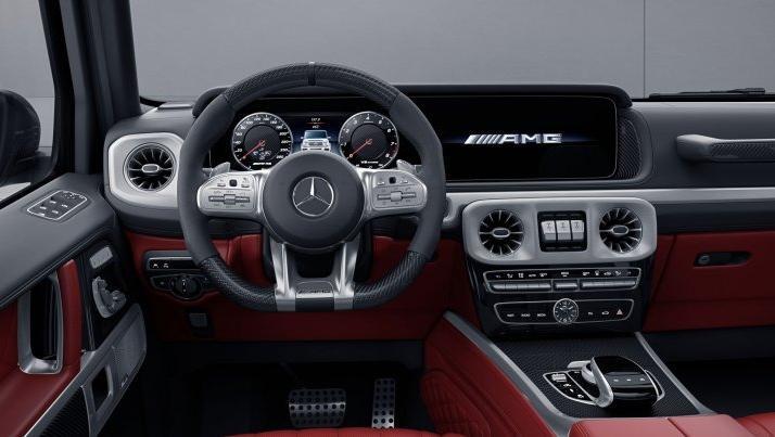 Mercedes-Benz AMG G-Class (2019) Interior 002