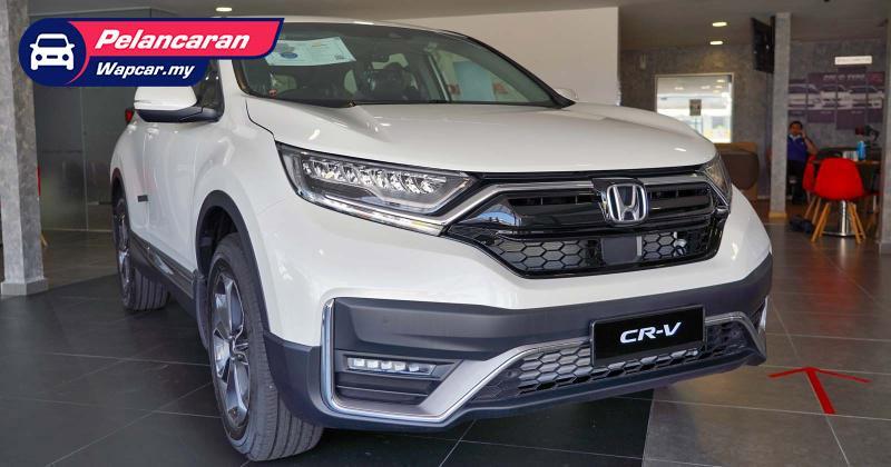 Honda CR-V facelift 2021 – dari RM140 ribu, LaneWatch untuk semua varian! 01