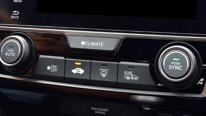 Honda Civic Type R (2018) Interior 006