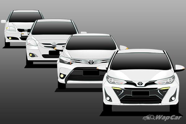 Evolusi Toyota Vios: 3 generasi dengan gelaran ikan! Yang mana paling lama bertahan? 02