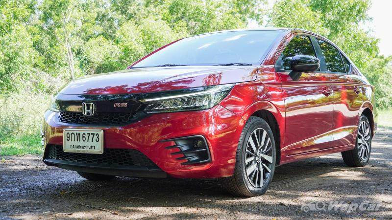 2020 Honda City RS front