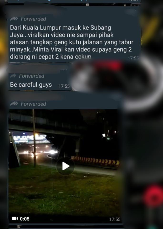 PDRM debunks Subang Jaya exit viral accident: No foul play here 02