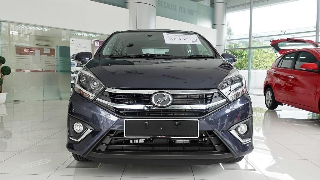 2018 Perodua Axia SE 1.0 AT Exterior 002