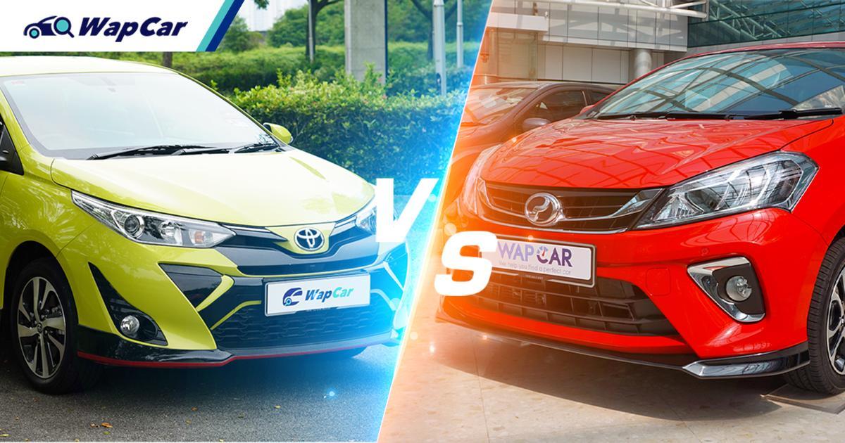 Used vs New: Same 1.5L engines, a used Toyota Yaris or new Perodua Myvi? 01