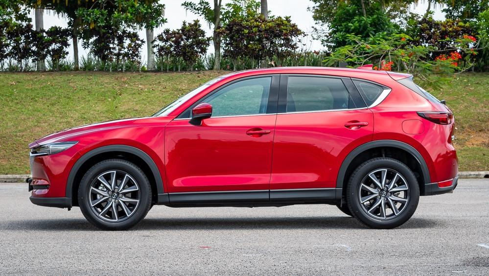 2019 Mazda CX-5 2.5L TURBO Exterior 009