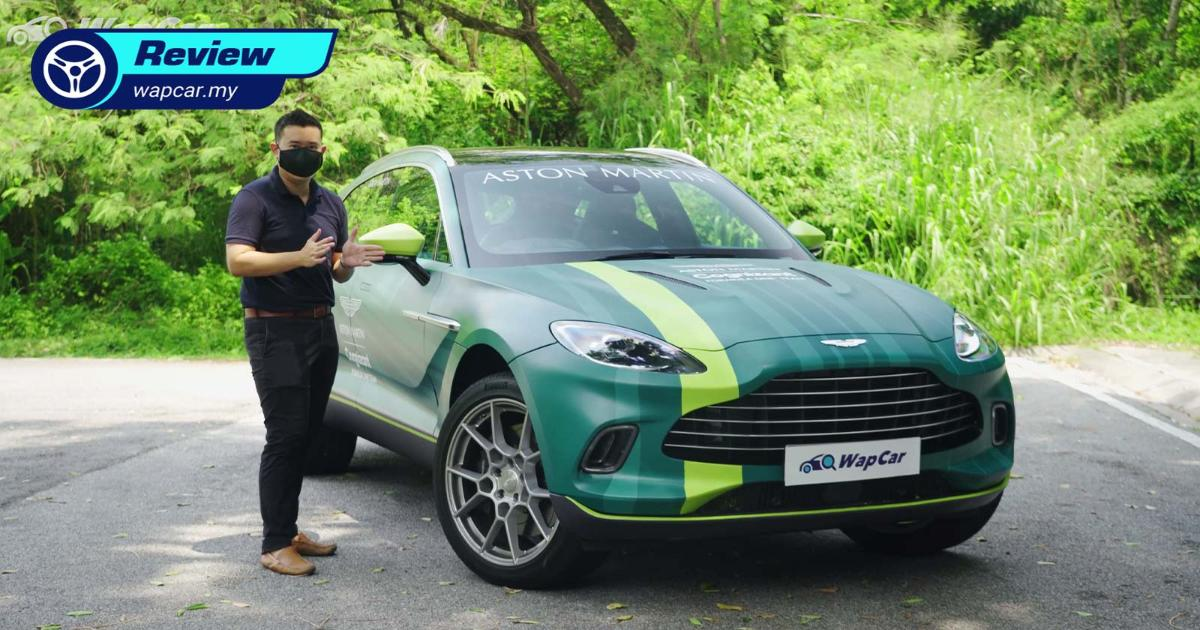 Video: 2021 Aston Martin DBX 4.0T Review in Malaysia, For 007, wife & kids 01