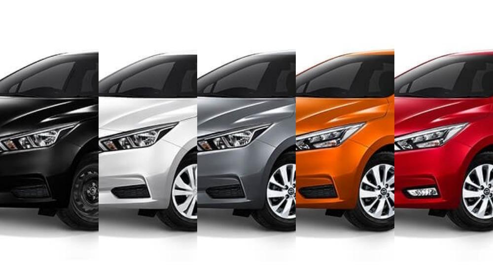All-new 2019 Nissan Almera variants