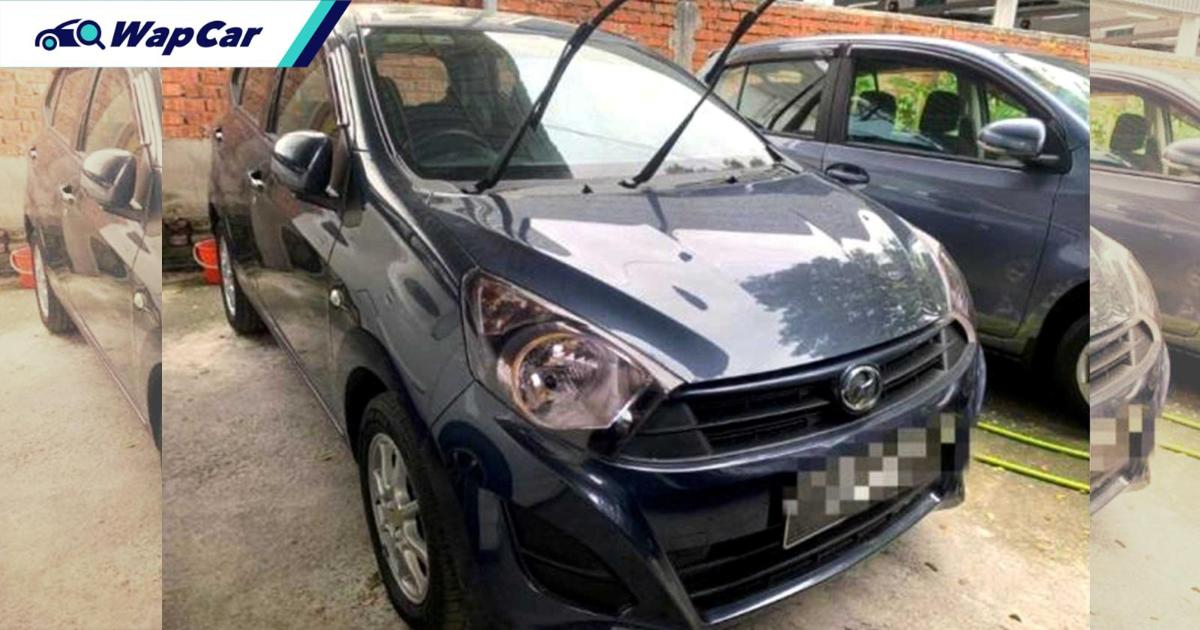 Used Perodua Axia stolen by customer during test drive! 01