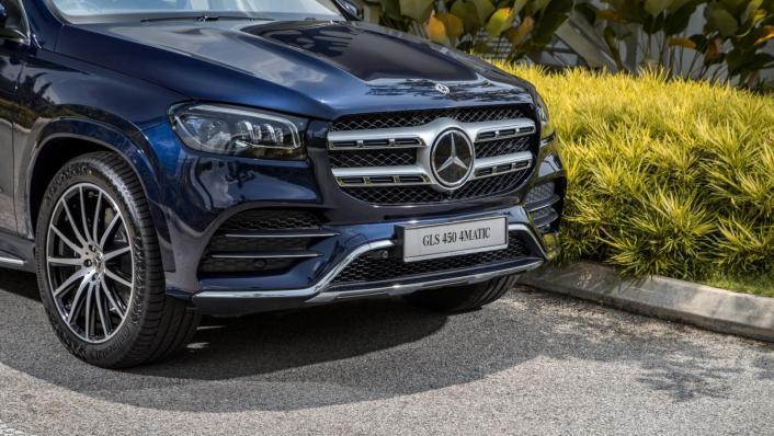 2020 Mercedes-Benz GLS 450 4Matic Exterior 002