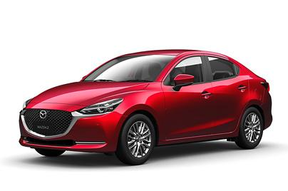 2018 Mazda 2 Sedan 1.5 GVC with LED Lamp (Soul Red Crystal)