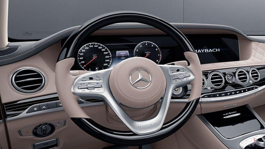 2019 Mercedes-Benz S 560 e Exclusive Interior 005