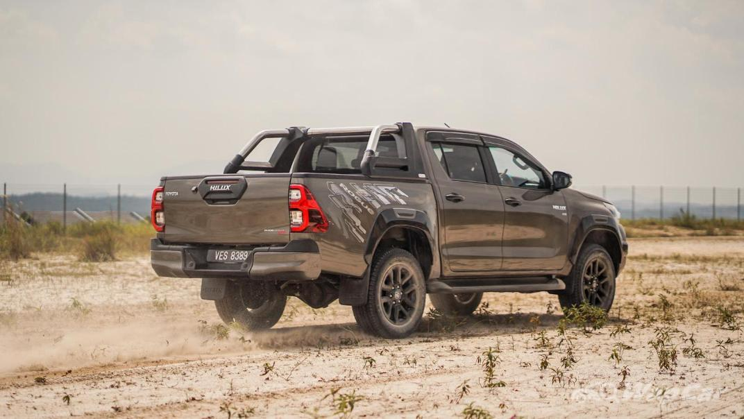 2020 Toyota Hilux Double Cab 2.8 Rogue AT 4X4 Exterior 108