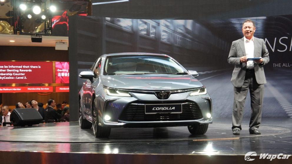 2019 Toyota Corolla Altis 1.8E Exterior 003