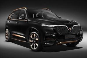 VinFast unveils Vietnam's first luxury SUV based on the BMW X5