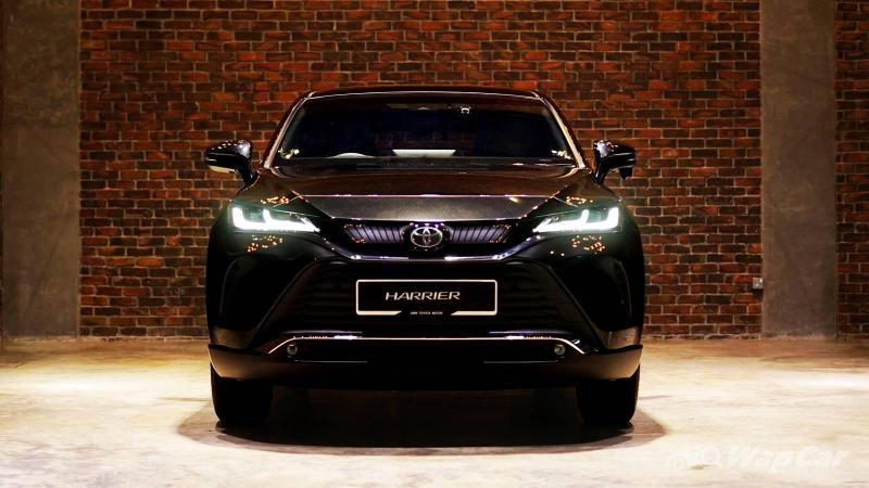 Priced from RM 249k, turbo-less 2021 Toyota Harrier launched in Malaysia, TSS, TNGA 02