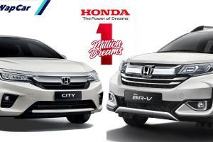 Nak lambang 'H'? Jimat dengan rebat RM 5,000 untuk Honda City dan BR-V!