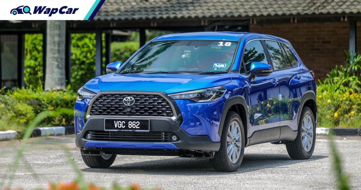 Tanpa cukai, Toyota Corolla Cross 2021 jauh lebih murah dari Proton X70 'high spec'! 01
