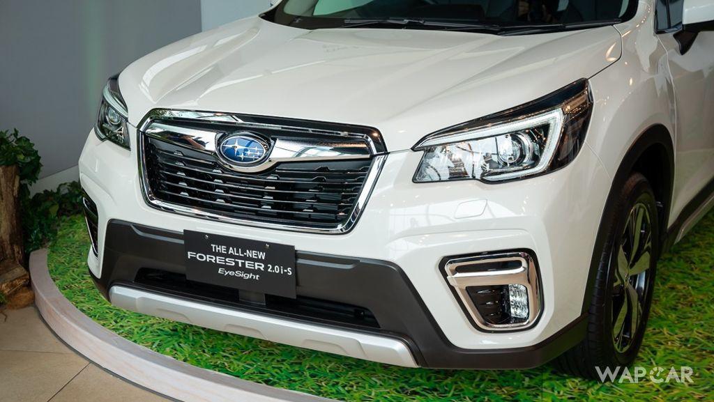 2019 Subaru Forester 2.0i-S EyeSight Exterior 013