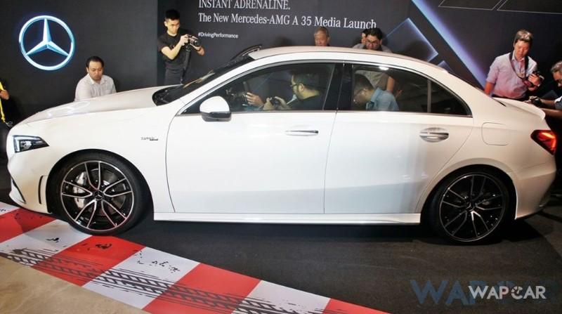 2019 Mercedes-AMG A35 AMG Sedan side