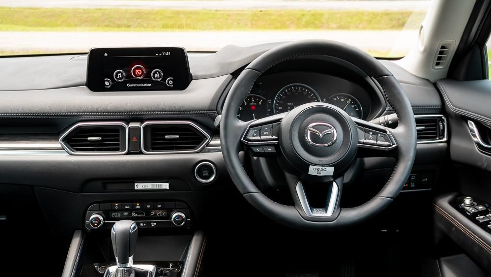 2019 Mazda CX-5 2.5L TURBO Interior 003