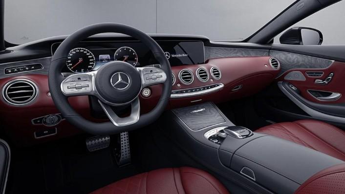 Mercedes-Benz S-Class Cabriolet (2018) Interior 003