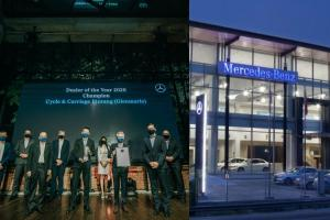 Mercedes-Benz Malaysia awards their most hardworking dealers of 2020
