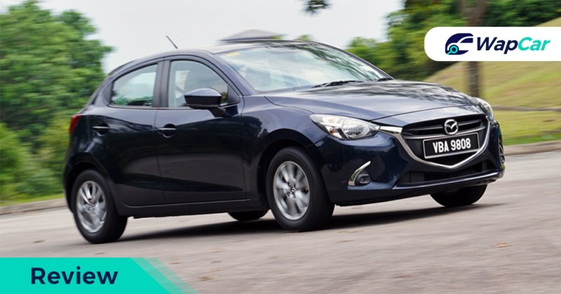 Mazda 2 Hatchback Mid review tracking shot