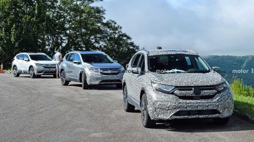 Disclosure of 2020 Honda CR-V 02