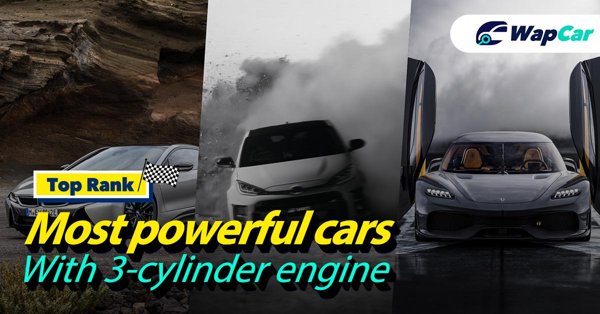 Top-3 most powerful cars with a 3-cylinder engine 01