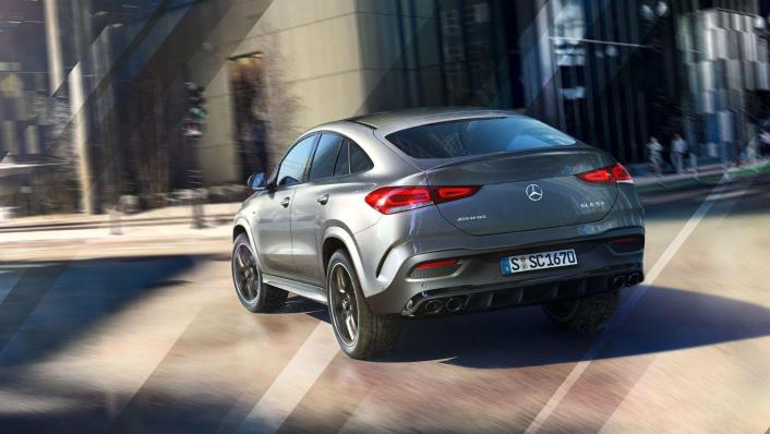 2020 Mercedes-Benz AMG GLE 53 4Matic Coupe Exterior 005