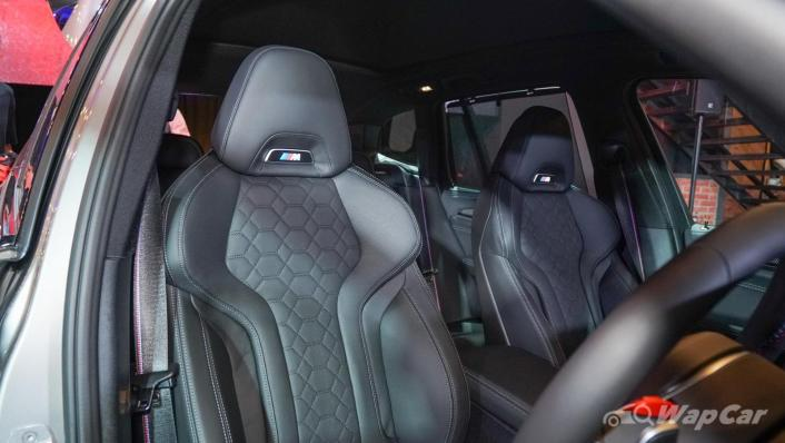 2020 BMW X3 M Competition Interior 005