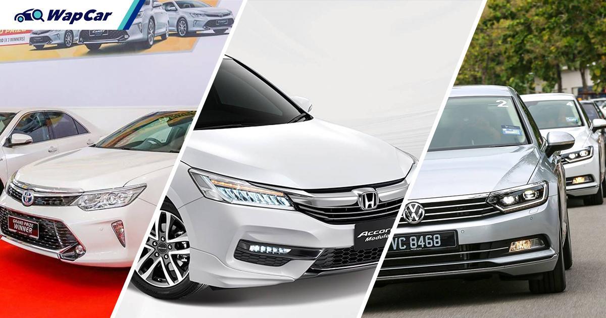 Toyota Camry、Honda Accord、VW Passat:谁是大马D级轿车中的保值之王? 01