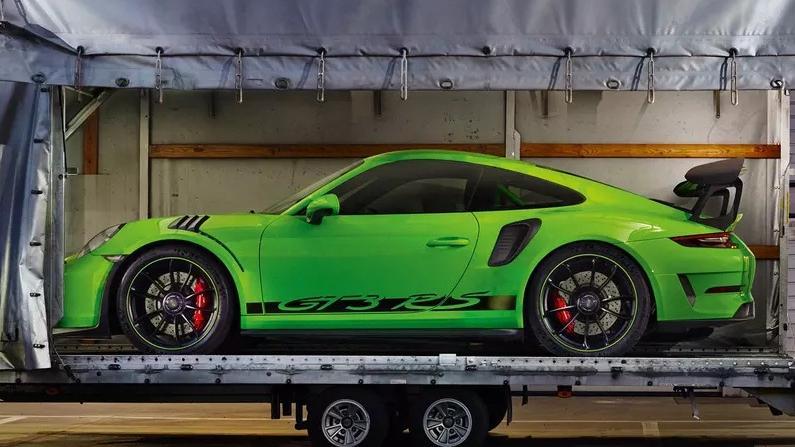 2019 Porsche 911 GT3 RS Exterior 006