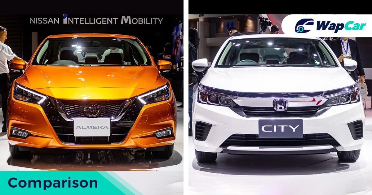 Perbandingan Honda City baru dengan Nissan Almera baru. Bakal dilancarkan di Malaysia tahun 2021? 01
