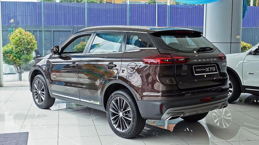 2018 Proton X70 1.8 TGDI Premium 2WD Exterior 007