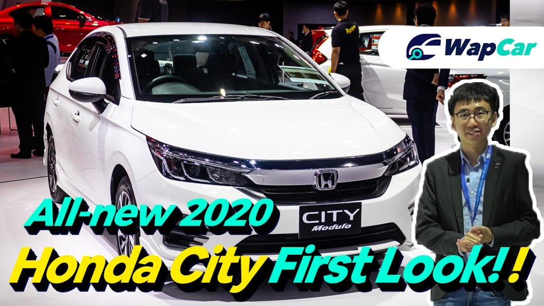 Video: All-new 2020 Honda City 1.0L VTEC Turbo first look, looks much better in person 01